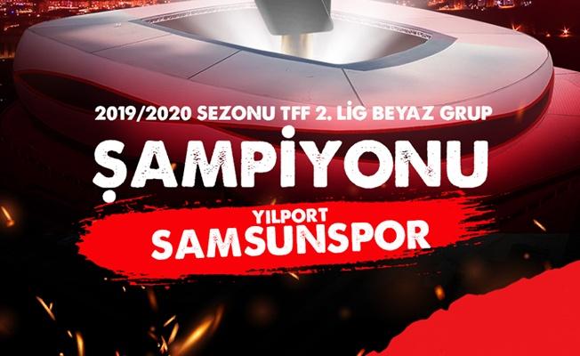 Şampiyon Samsunspor