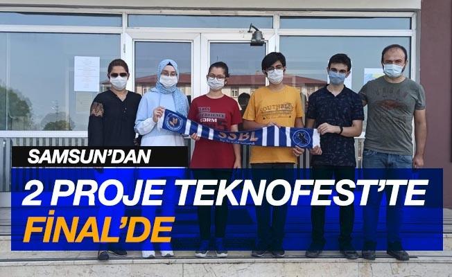 Teknofest 2020'de Samsun'dan 2 proje finalde