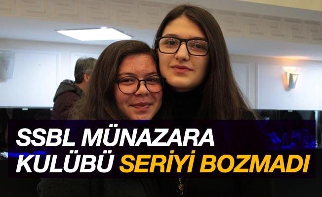 SSBL Münazara Kulübü seriyi bozmadı