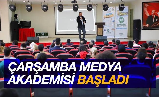 """""""Çarşamba Medya Akademisi"""" başladı"""