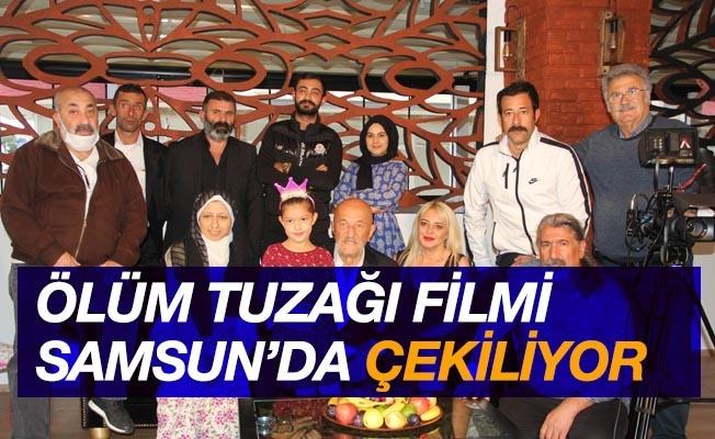 Ölüm Tuzağı filmi Samsun'u sinema kenti yapacak