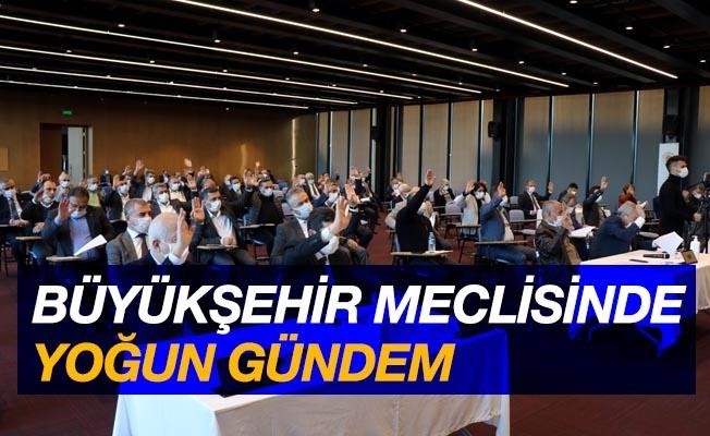 Samsun Büyükşehir Meclisi'nde yoğun gündem