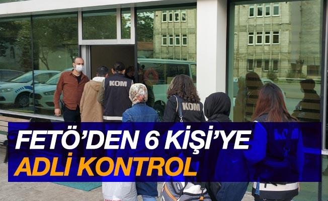 Samsun'da FETÖ'den 6 kişiye adli kontrol