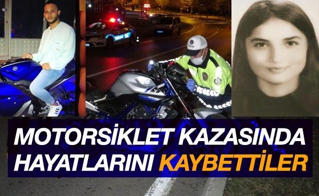 Samsun'da motosiklet kazası: 2 ölü