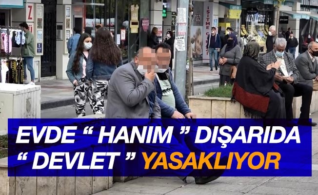 """Samsun'da sigara yasağının ilk günü: """"Evde hanım, dışarıda devlet yasaklıyor"""""""