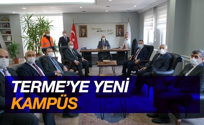Terme'ye yeni kampüs