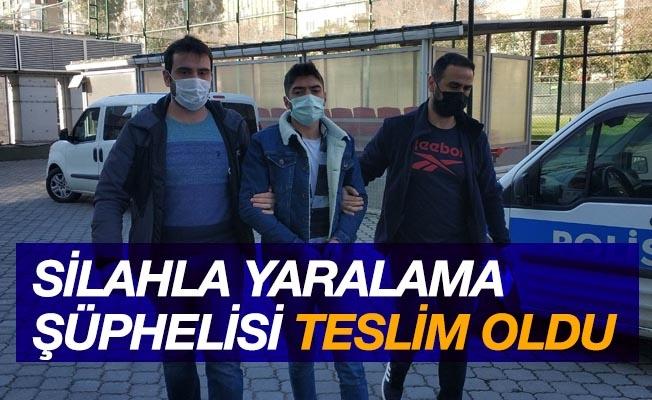 Samsun'da silahla yaralama şüphelisi polise teslim oldu