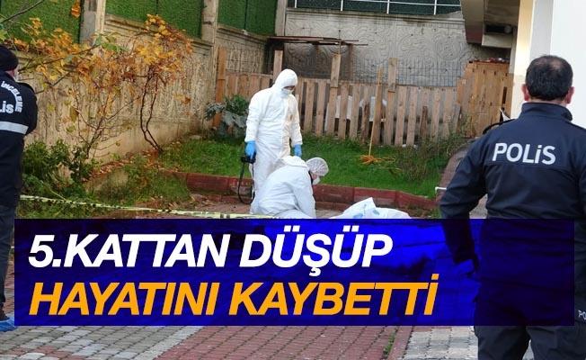 Samsun'da 5. kattan düşerek hayatını kaybetti