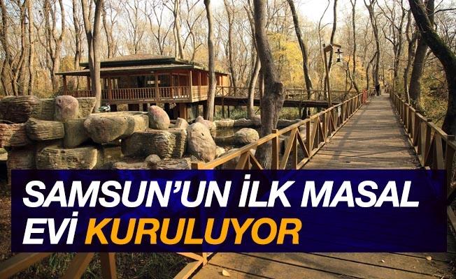 Samsun'un ilk 'Masal Evi' kuruluyor