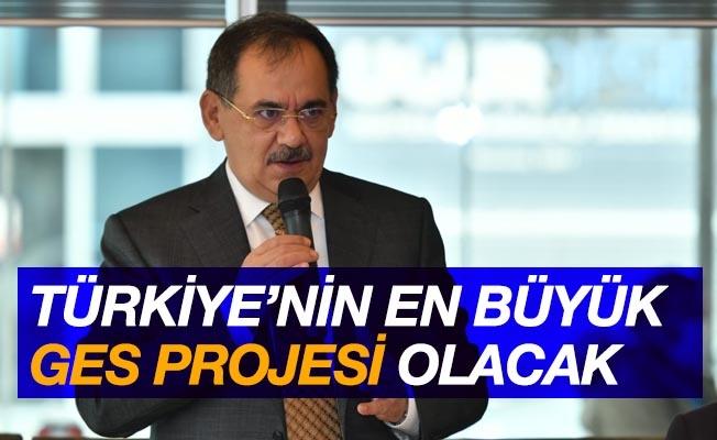Türkiye'nin en büyük GES projesi olacak