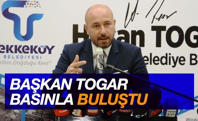 """Başkan Togar: """"Dünyanın en güçlü silahı olan kalemlerinizi hep doğrularla kullanın"""""""