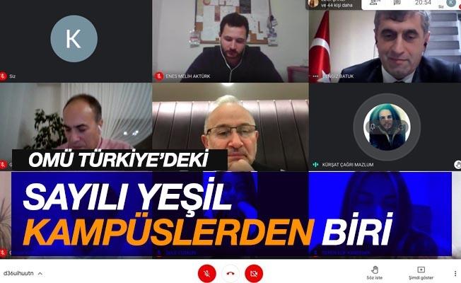 """Rektör Ünal: """"OMÜ, Türkiye'deki sayılı yeşil kampüslerden biri"""""""