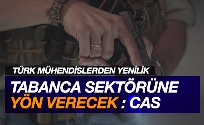 Türk mühendislerden tabanca sektörüne yön verecek yenilik: CAS
