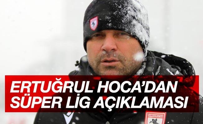 """Ertuğrul Sağlam: """"Samsunspor'u hayalimiz olan Süper Lig'e taşıyacağız"""""""