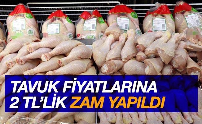 Tavuk fiyatlarına 2 TL zam