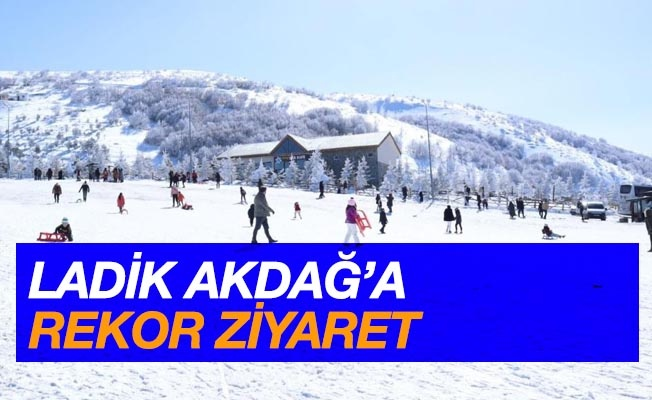 Akdağ'a rekor ziyaret