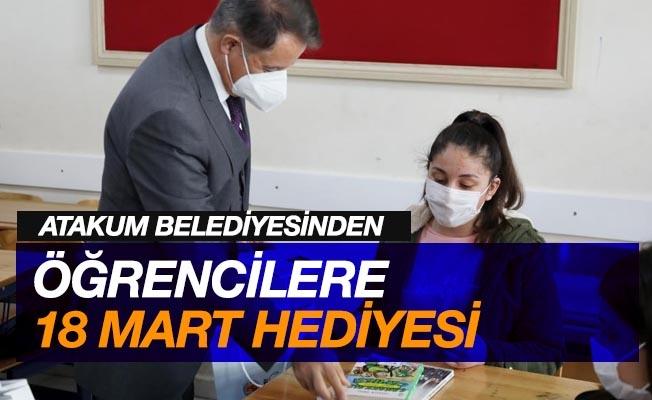 Atakum Belediyesi'nden öğrencilere 'Çanakkale Zaferi' hediyesi