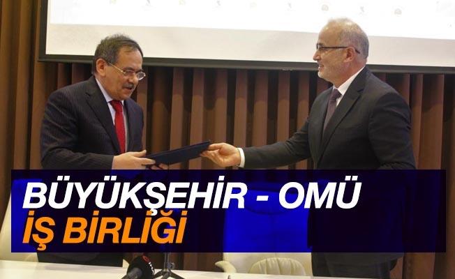 Büyükşehir-OMÜ iş birliği