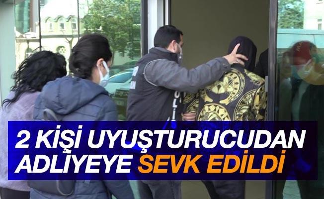 Samsun'da 2 şahıs uyuşturucu madde ticareti suçundan adliyede