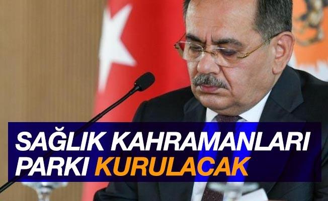 """Samsun'da """"Sağlık Kahramanları Parkı"""" kurulacak"""