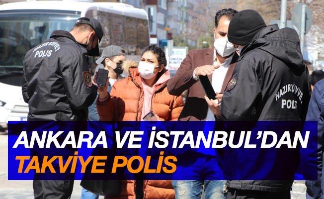 Virüsün zirve yaptığı Samsun'a Ankara ve İstanbul'dan polis takviyesi
