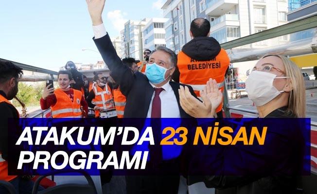 Atakum'da 23 Nisan programı