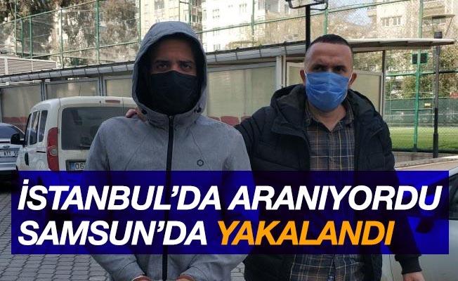 İstanbul polisinin uyuşturucudan aradığı Mısırlı Samsun'da yakalandı