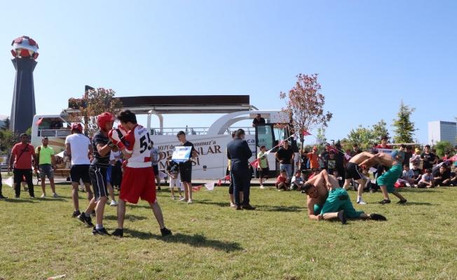 Samsun'da yaz spor okullarına görkemli açılış