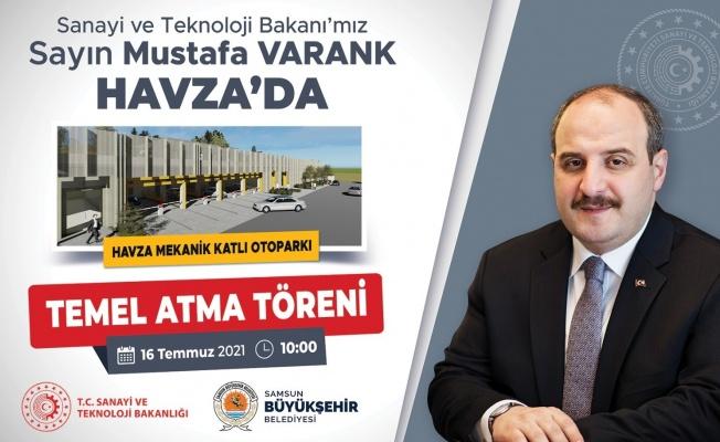 Bakan Varank'ın Samsun programı belli oldu