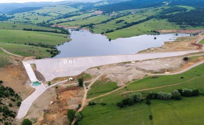Ladik Fındıcak Barajı'nın geçici kabulü yapıldı