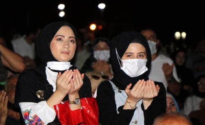 Samsun'da 15 Temmuz etkinlikleri gün boyu sürdü