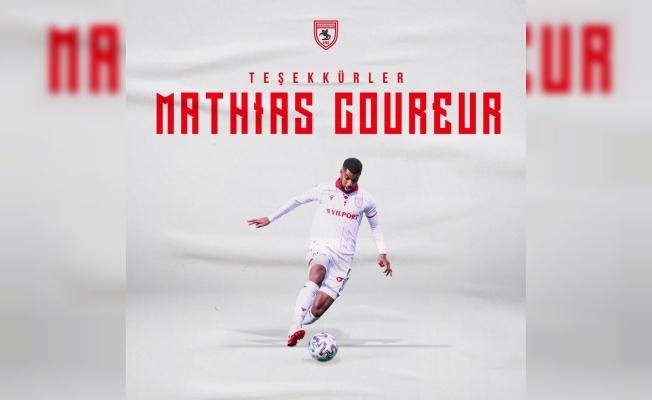 Samsunspor'da Mathias Coureur ile yollar ayrıldı