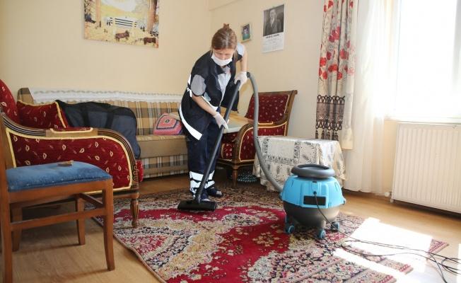Atakum Belediyesi, evlere dayanışmayı taşıyor