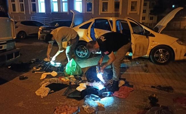 Bafra'da 850 gram uyuşturucu ele geçirildi