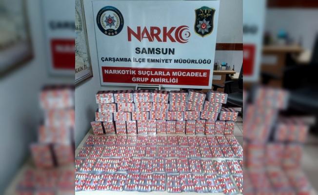 Kargo ile gönderilen 5 bin 880 adet uyuşturucu ele geçirildi