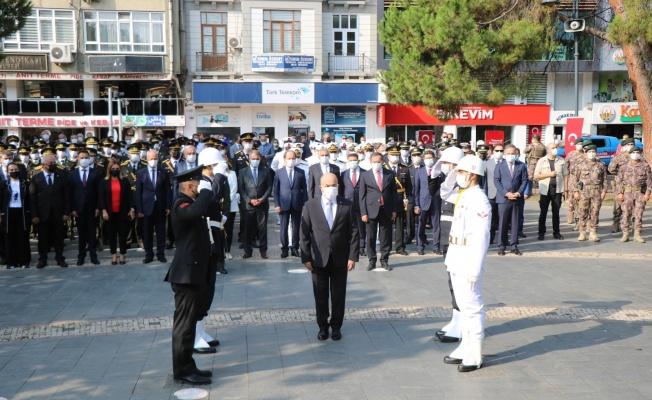 Samsun'da 30 Ağustos Zafer Bayramı kutlamaları