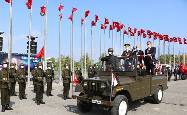 Samsun'da zafer coşkusu