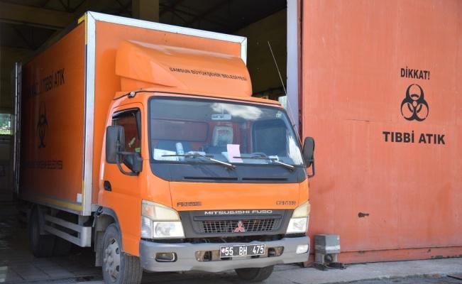 3 bin 700 ton tıbbi atık bertaraf edildi