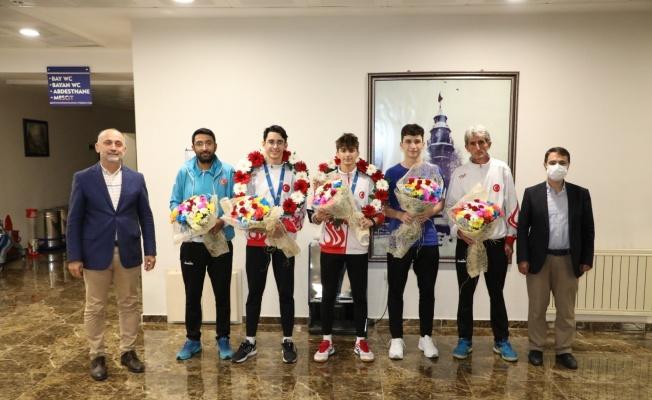 Badmintonda Avrupa üçüncüsü oldular