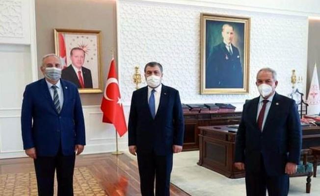 'Bakan Koca, Unkapanı Kültür Merkezi binası için talimat verdi'