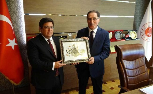 Ombudsman Malkoç, Samsun Adliyesi'nde