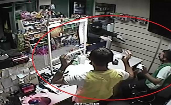 Samsun'da akaryakıt istasyonunda silahlı soygun