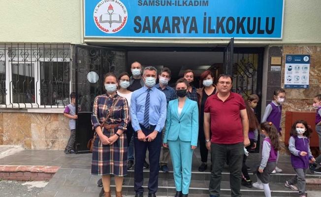 Samsun'da iki okuldan iş birliği