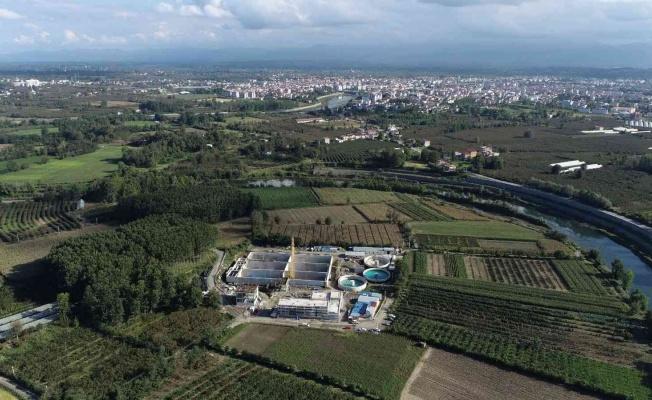 9,8 milyon euroluk atık su arıtma tesisinin yüzde 43'ü tamam