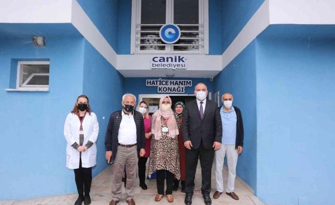 Canik'te Hanım Konakları eğitime başladı
