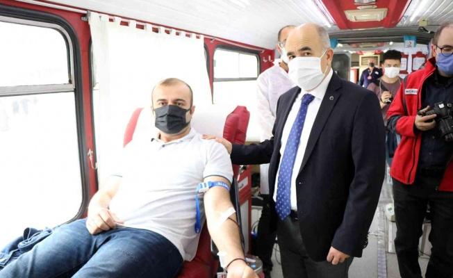 Samsun'da 5555 kan bağışı kampanyası: 3500 kan bağışı toplandı