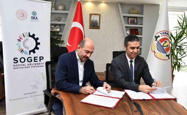 Terme'ye 2,5 milyonluk istihdam projesi