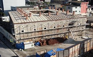 511 yıllık tarihi Taşhan'ın restorasyonu Nisan ayında bitiyor