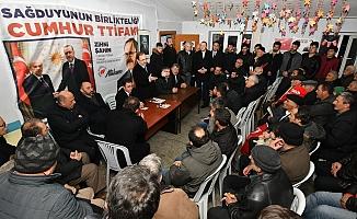 Başkan Zihni Şahin'den çiftçiye 'alım' garantisi