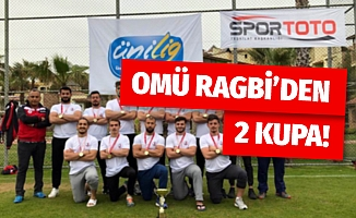 OMÜ Ragbi Takımından 2 Kupa